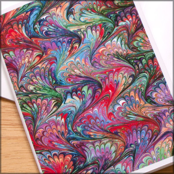 marbled paper notebook no. 10 - product images  of