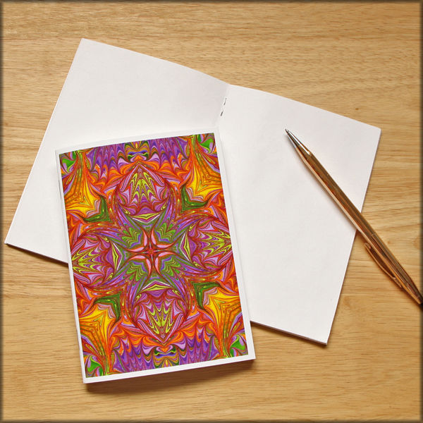 marbled kaleidoscope notebook no. 10 - product images  of