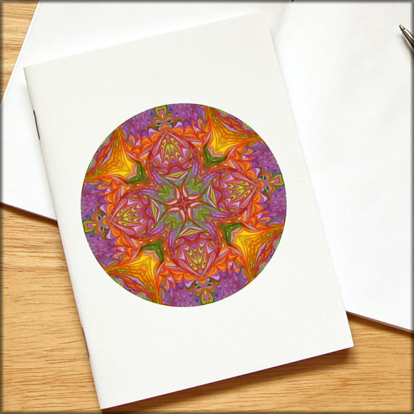 marbled mandala notebook no. 10 - product images  of