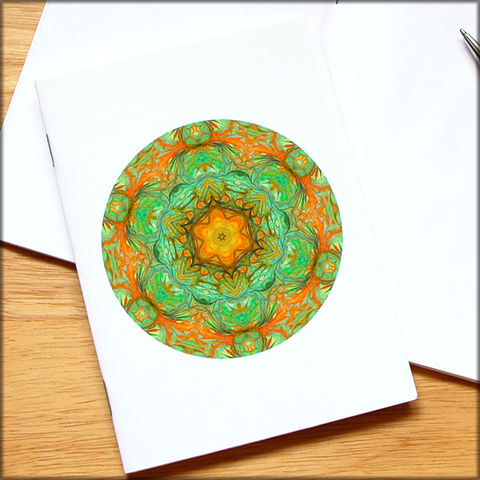 marbled,mandala,notebook,no.,5,small notebook,mini journal,marbled paper,eco friendly