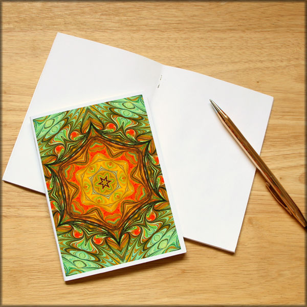 marbled kaleidoscope notebook no. 5 - product images  of