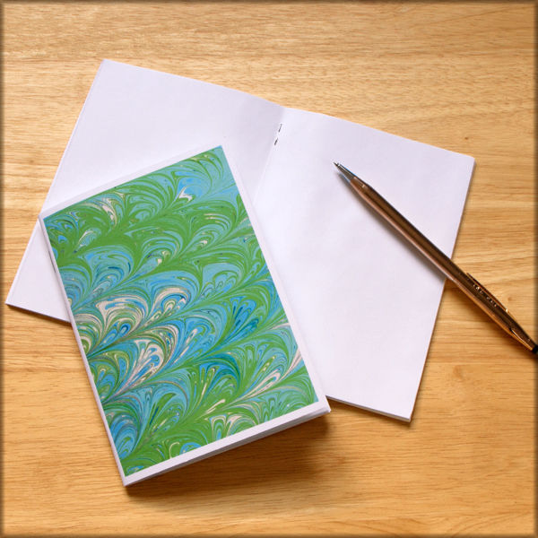 marbled paper notebook no. 3 - product images  of