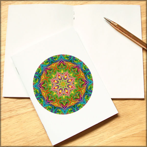 marbled mandala notebook no. 11 - product images  of