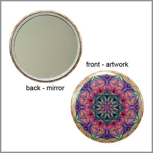 mandala mirror no. 1 - product images  of