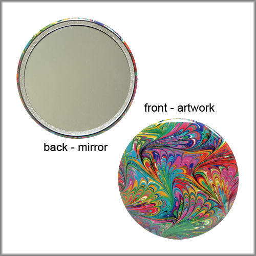 marbled paper mirror no. 5 - product images  of