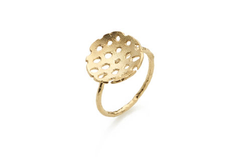 Gold,Remnant,Ring, textured ring, gold ring, gold plated ring, handmade jewellery, handmade ring