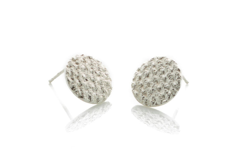Silver Crochet Studs - product images  of