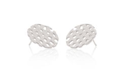 Silver Remnant Studs - product images  of