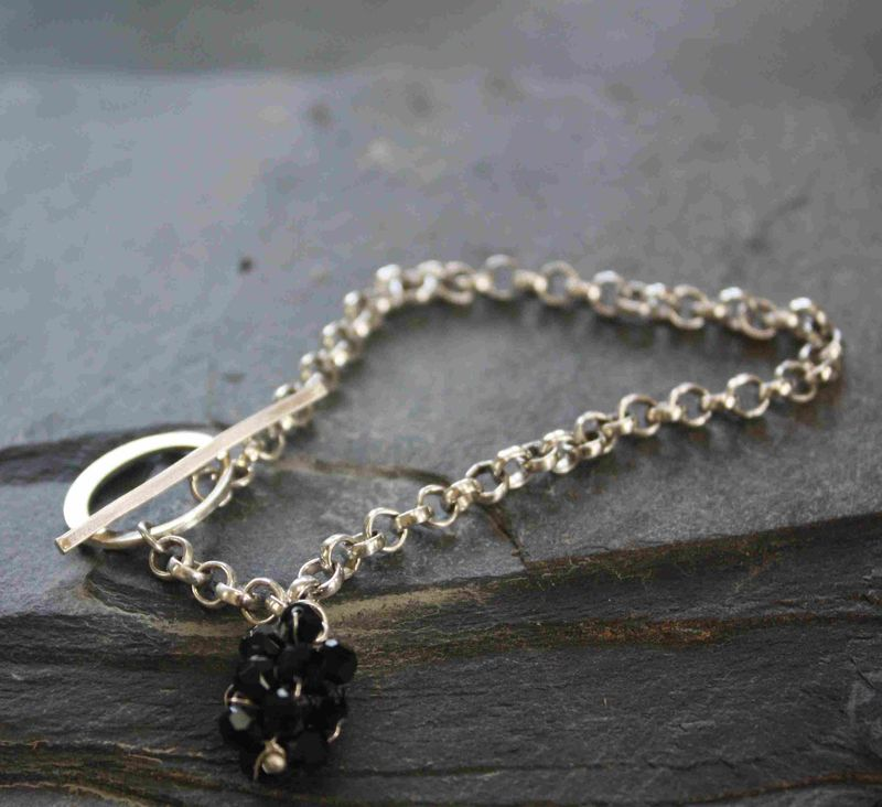 Pearl lariat bracelet - product images  of