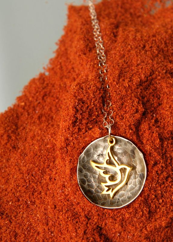 Dove necklace - product images  of