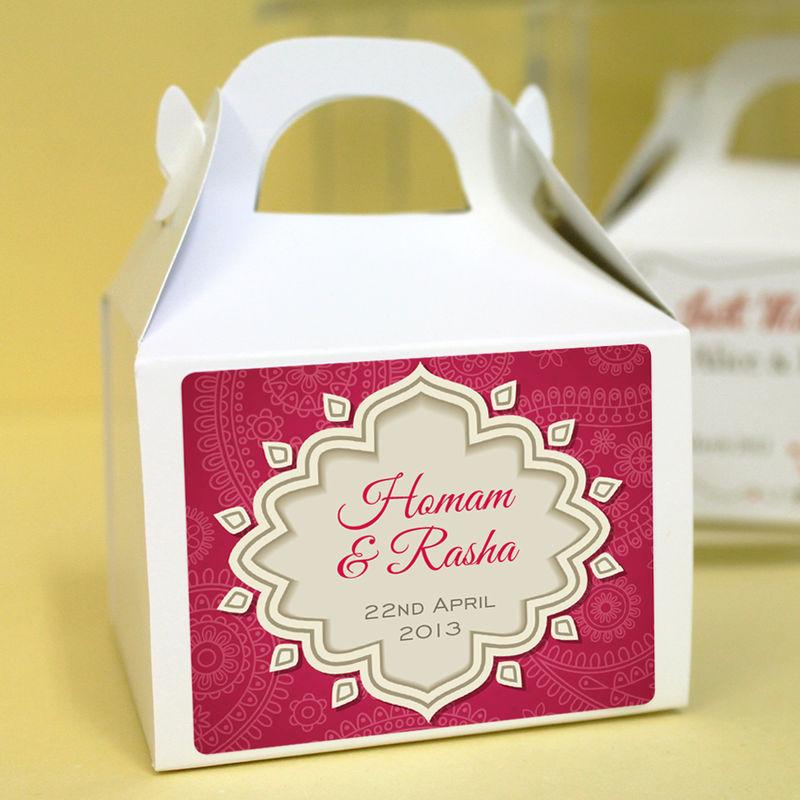 Personalised Wedding Favour Bo Mystique Product Image