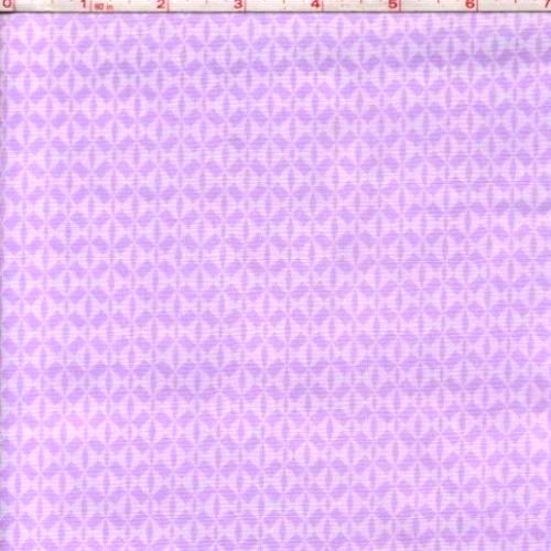 Cotton Quilt Fabric Bloom Purple Diamonds Tone On Tone Lilac   - product image
