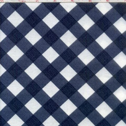 Good,Buy,Cotton,Quilt,Fabric,Denim,Criss,Cross,Blue,White,Bias,Gingham,Check,quilt fabric,cotton material,auntie chris quilt,sewing,crafts,quilting,online fabric,sale fabric