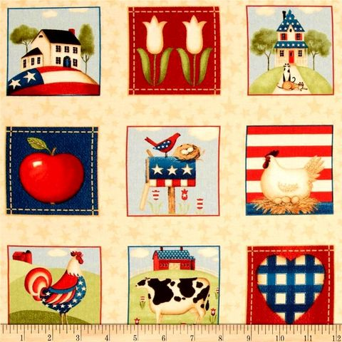 1,Panel,Fabric,From,The,Heartland,American,Patriotic,Red,White,Blue,quilt fabric,cotton material,auntie chris quilt,sewing,crafts,quilting,online fabric,sale fabric
