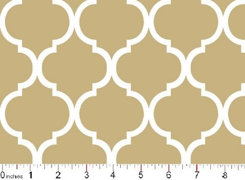 Good,Buy,Cotton,Quilt,Fabric,Colorful,Quatrefoil,Tan,And,White,quilt fabric,cotton material,auntie chris quilt,sewing,crafts,quilting,online fabric,sale fabric
