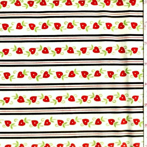 Cotton,Quilt,Fabric,With,Love,Heart,Stripe,Floral,Valentines,quilt fabric,cotton material,auntie chris quilt,sewing,crafts,quilting,online fabric,sale fabric