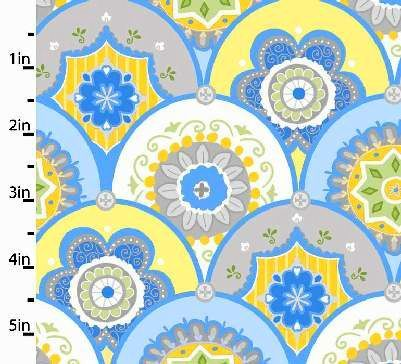 Cotton,Quilt,Fabric,Flannel,Precious,Baby,Blue,Yellow,Scalloped,quilt fabric,cotton material,sewing,crafts,quilting,online fabric,sale fabric