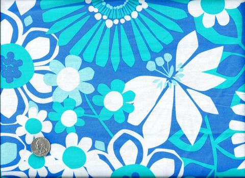 Cotton,Quilt,Fabric,Color,Stories,Modern,Blue,White,Flower,quilt fabric,cotton material,auntie chris quilt,sewing,crafts,quilting,online fabric,sale fabric