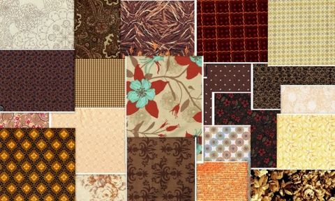 3,Yard,Stash,Builder,Chocolate,And,Cappuccino,Pack,Quilt,Fabric,quilt fabric,cotton material,auntie chris quilt,sewing,crafts,quilting,online fabric,sale fabric