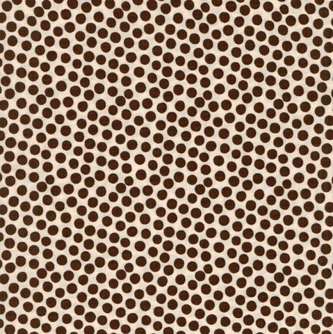 Cotton,Quilt,Fabric,Town,And,Country,Rain,Drops,Brown,Dot,quilt fabric,cotton material,auntie chris quilt,sewing,crafts,quilting,online fabric,sale fabric