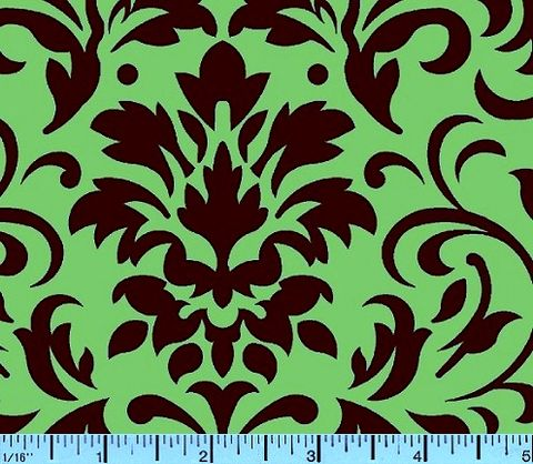 Cotton,Quilt,Fabric,Delightful,Damask,Brown,And,Mint,Green,quilt fabric,cotton material,auntie chris quilt,sewing,crafts,quilting,online fabric,sale fabric