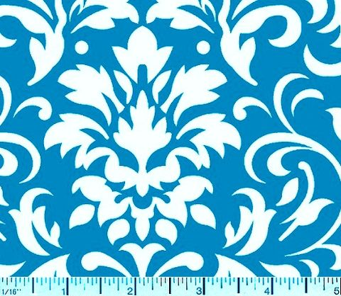 Cotton,Quilt,Fabric,Delightful,Damask,Teal,Blue,And,White,quilt fabric,cotton material,auntie chris quilt,sewing,crafts,quilting,online fabric,sale fabric