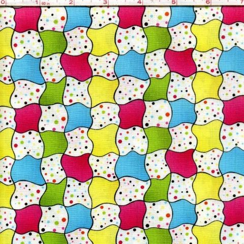 Cotton,Quilt,Fabric,It's,A,Party,Stripe,Polka,Dots,Pink,Blue,Green,quilt fabric,cotton material,auntie chris quilt,sewing,crafts,quilting,online fabric,sale fabric