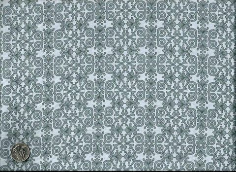 Cotton,Quilt,Fabric,Life,Is,Beautiful,Gray,Art,Deco,Damask,quilt fabric,cotton material,auntie chris quilt,sewing,crafts,quilting,online fabric,sale fabric