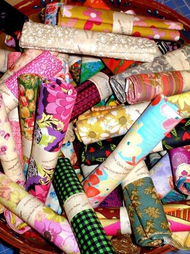 5 Yard Fat Quarter Collection Stash Builder Discount Quilt Fabric - product images  of