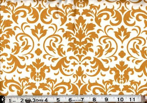 Cotton,Quilt,Fabric,Delightful,Damask,Gold,And,White,quilt fabric,cotton material,auntie chris quilt,sewing,crafts,quilting,online fabric,sale fabric