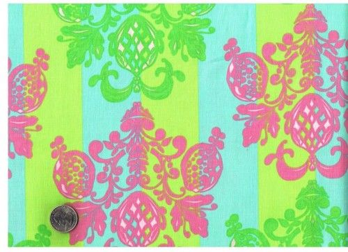 Cotton Quilt Fabric Olivias Holiday Pineapple Post Tina Givens Blue - product image