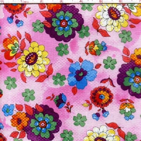 Cotton,Quilt,Fabric,Quilting,Bee,Roses,Floral,Multi,Pink,Red,Blue,quilt fabric,cotton material,auntie chris quilt,sewing,crafts,quilting,online fabric,sale fabric