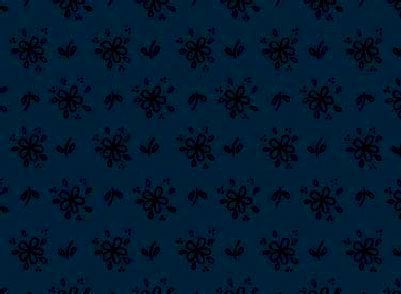 Cotton Quilt Fabric Baskets In Bloom Dark Blue Floral Tone On Tone - product images  of