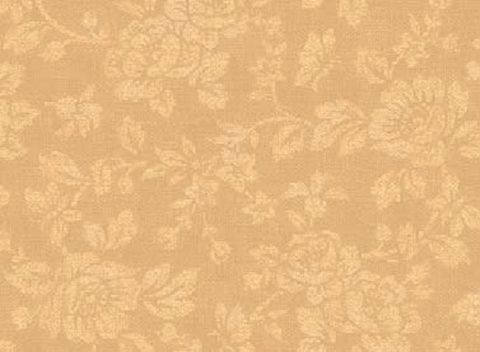 Cotton,Quilt,Fabric,With,All,My,Heart,Damask,Rose,Tan,Tone,On,quilt fabric,cotton material,auntie chris quilt,sewing,crafts,quilting,online fabric,sale fabric