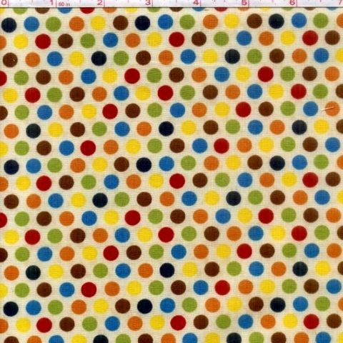 Cotton,Quilt,Fabric,Sunshine,Zoo,Red,Green,Blue,Beige,Polka,Dots,quilt fabric,cotton material,auntie chris quilt,sewing,crafts,quilting,online fabric,sale fabric