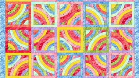 Cotton,Quilt,Fabric,Batik,Look,Circles,of,Love,Pastel,Blocks,Panel,quilt fabric,cotton material,auntie chris quilt,sewing,crafts,quilting,online fabric,sale fabric