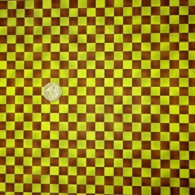 Cotton,Quilt,Fabric,Graphix,Checks,Brown,Green,Paintbrush,Studios,quilt fabric,cotton material,auntie chris quilt,sewing,crafts,quilting,online fabric,sale fabric
