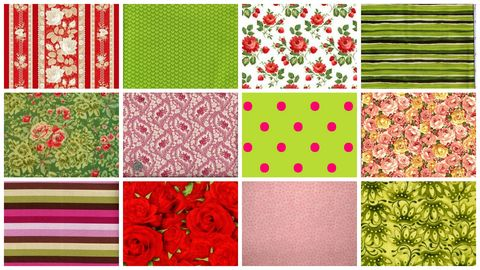 Rose,And,Thyme,Garden,Stash,Builder,Quilt,Fabric,2,Yards,kit,quilt fabric,cotton material,auntie chris quilt,sewing,crafts,quilting,online fabric,sale fabric