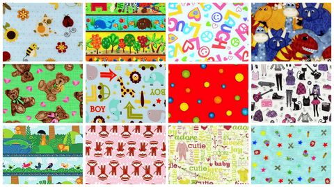 Kids,Picks,Childrens,Stash,Builder,Quilt,Fabric,Mix,2,Yards,kit,quilt fabric,cotton material,auntie chris quilt,sewing,crafts,quilting,online fabric,sale fabric
