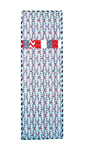 The All Season Table Runner Kit Reversible Red White Blue  - product images  of
