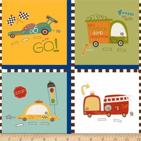 Cotton,Quilt,Fabric,Riley,Blake,On,Our,Way,Race,Cars,Firetrucks,quilt fabric,cotton material,auntie chris quilt,sewing,crafts,quilting,online fabric,sale fabric