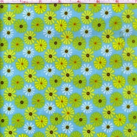 Cotton,Quilt,Fabric,Roots,And,Wings,Blue,Floral,Riley,Blake,quilt fabric,cotton material,auntie chris quilt,sewing,crafts,quilting,online fabric,sale fabric