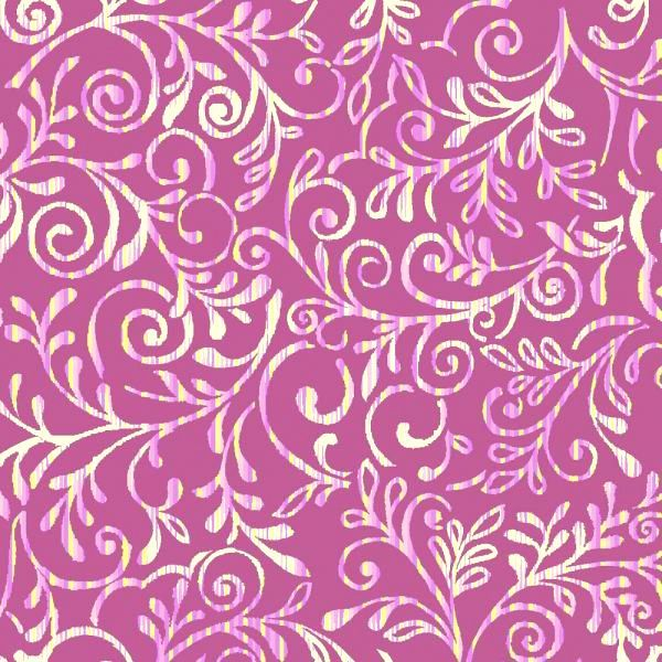 Cotton Quilt Fabric Costa De La Flores Azure Mauve - product image