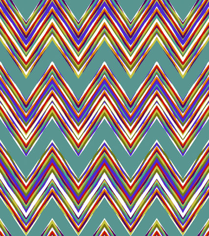 Cotton,Quilt,Fabric,Costa,De,La,Flores,Aqua,Chevron,Katia,Hoffman,quilt fabric,cotton material,auntie chris quilt,sewing,crafts,quilting,online fabric,sale fabric