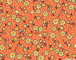 Cotton Quilt Fabric Indian Summer Cottage Floral Cotton Coral Multi - product images  of