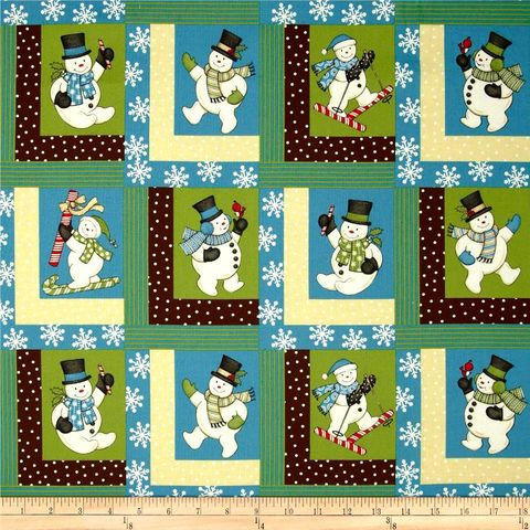 Cotton,Quilt,Fabric,Sweetie,Pie,Snowmen,Christmas,Winter,Snowflakes,quilt fabric,cotton material,auntie chris quilt,sewing,crafts,quilting,online fabric,sale fabric