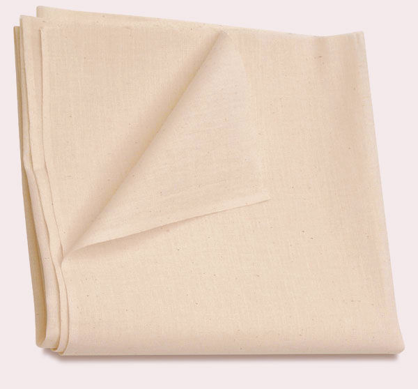 Cotton Quilt Fabric Unbleached Muslin Off White Craft Fabric - product images  of