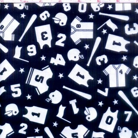 Cotton,Quilt,Fabric,Play,Ball,Sports,Baseball,Navy,Blue,Boys,Quilts,quilt fabric,cotton material,auntie chris quilt,sewing,crafts,quilting,online fabric,sale fabric