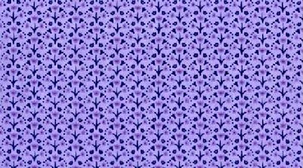 Cotton Quilt Fabric Dear Stella Little Lavender Tulips Purple Lilac Floral - product images  of