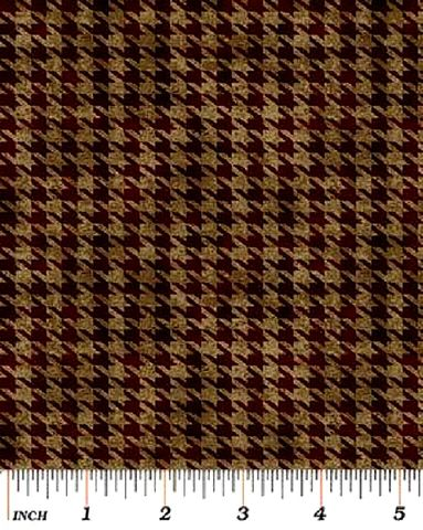 Cotton,Quilt,Fabric,Alpine,Woods,Brown,Tweed,Texture,Houndstooth,Plaid,,quilt backing, dresses, quilt fabric,cotton material,auntie chris quilt,sewing,crafts,quilting,online fabric,sale fabric